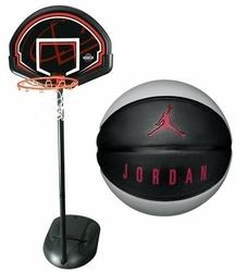 Zestaw do koszykówki Lifetime Chicago 90022 + Piłka do koszykówki Jordan Playground 8P