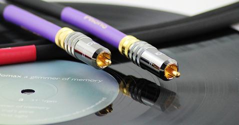 Tellurium Q Phono RCA Black interkonekt Długość: 2,5 m