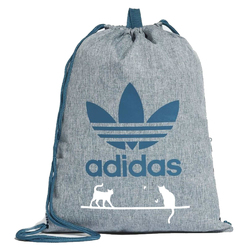 Worek Torba Adidas Originals Trefoil Custom Cats White - CE2386