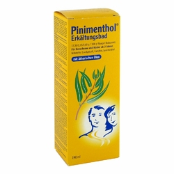 Pinimenthol płyn do kąpieli na przeziębienie