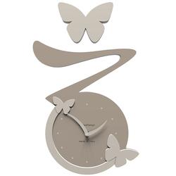 Zegar ścienny Butterfly CalleaDesign gołębi 50-10-1-13