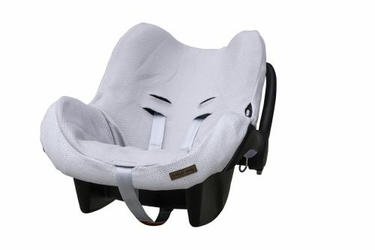 Babys Only, Classic Ochraniacz na fotelik samochodowy 0+, Srebrnoszary