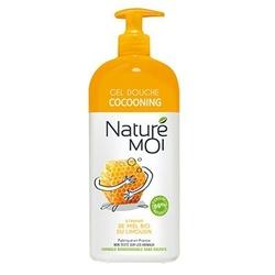 Nature Moi, Odżywczy Żel pod Prysznic Otulający MIÓD, 750ml