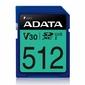 Adata Karta pamięci SDXC PremierPro 512GB UHS-I U3 V30 10080 MBs