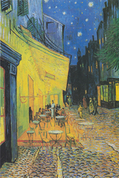 Vincent Van Gogh - Terrasse de Café - plakat Wymiar do wyboru: 20x30 cm