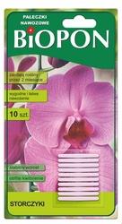 Biopon, pałeczki nawozowe do storczyków, 10 sztuk