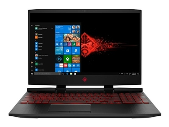 HP Notebook OMEN 15-dc0012nw  i5-8300H  8GB  1TB  4GB  W10H6