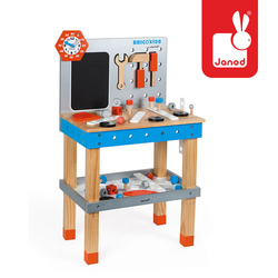 BRICOKIDS DIY GIANT MAGNETIC WORKBENCH, Janod