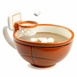 Koszykarski kubek MAXIS Creations basketball The Mug With A Hoop do kawy napojów