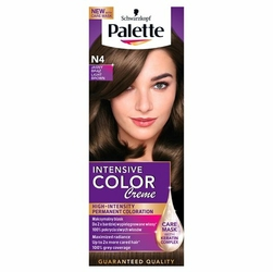 Palette Intensive Color Creme, farba do włosów, N4 jasny brąz