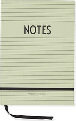 Notes Design Letters A5 zielony