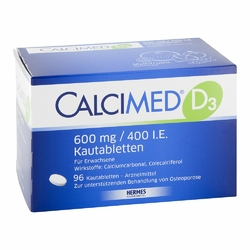 Calcimed D3 600 mg400 I.e. Kautabletten