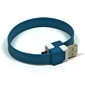 Kabel USB 2.0, USB A  M- USB micro M, 0.25m, niebieski, na nadgarstek