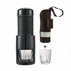 Ekspres ręczny do espresso STARESSO SP-200  2 szklaneczki  Ciśnienie 15-20 bar  Na kawę mieloną