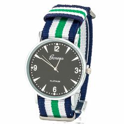 Zegarek nylonowy kolorowy - kolorowy