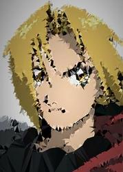 POLYamory - Edward, Fullmetal Alchemist - plakat Wymiar do wyboru: 40x50 cm