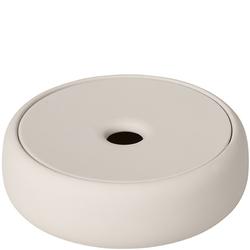 Pojemnik łazienkowy z silikonowym wieczkiem Blomus Sono moonbeam B69058