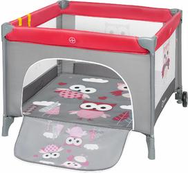 Lionelo Stella Pink Owl Kojec dla dziecka