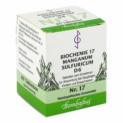 Biochemie 17 Manganum sulfuricum D 6 Tabl.