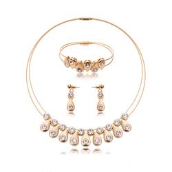 Biżuteria zestaw łezka