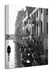 Gondolas, Venice - Obraz na płótnie
