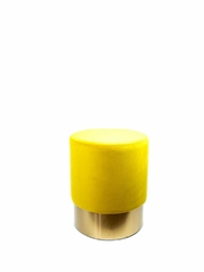 Puf Cherry Sunny Yellow - żółty