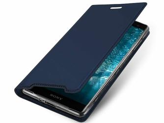 Etui Dux Ducis Skin Sony Xperia XZ3 Granatowe - Granatowy