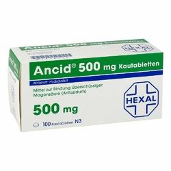 Ancid 500 mg Kautabl.