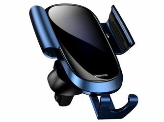 Baseus Future uchwyt grawitacyjny samochodowy do kratki Blue - Niebieski