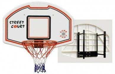 Zestawkosztablica do koszykówki 509 Bronx z uchwytem