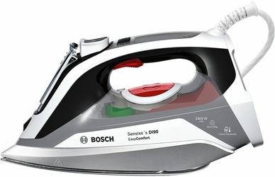 Żelazko BOSCH TDI90EASY Comfort  2400 W  blokada kapania  Silne uderzenie pary 200 gmin