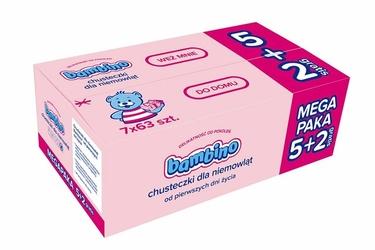 Bambino, chusteczki dla niemowlat 7x63SZT