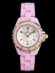 Damski zegarek BISSET BSPD79 zb520b - CERAMICZNY