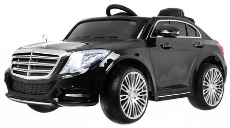 Samochód dla dziecka Mercedes S600 Czarny + PILOT