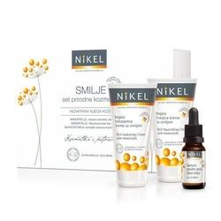 NIKEL, Zestaw Prezentowy Pielęgnacja Cery przeciwzmarszczkowa, 3 produkty