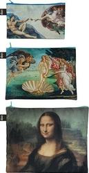 Saszetki Zip Pockets Museum 3 szt. Michelangelo