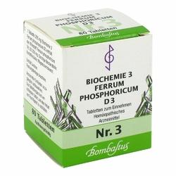 Biochemie 3 Ferrum phosphoricum D 3 Tabl.