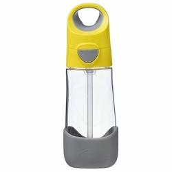 Tritanowa butelka ze słomką 450 ml, lemon sherbet, b.box