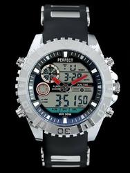 Męski zegarek PERFECT EXEO zp117b - blackred