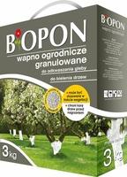 Biopon, wapno ogrodnicze granulowane, 3kg