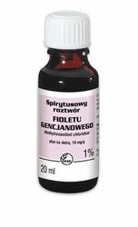 GENCJANA Fiolet roztwór spirytusowy 1 20ml
