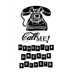 Stempel kauczukowy Stamperia - call me - 34