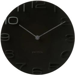 Zegar ścienny On The Edge Karlsson czarny KA5311BK