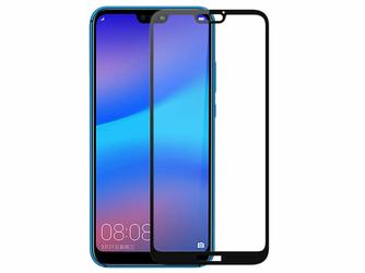 Szkło Mocolo 3D na cały ekran Huawei P20 Lite czarne
