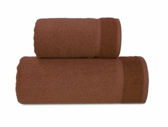Ręcznik SOFT Greno brązowy - brązowy