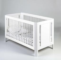 Troll, Sun białe łóżeczko dziecięce 140x70