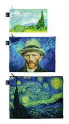 Saszetki Zip Pockets Museum 3 szt. Vincent van Gogh