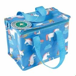 Kolorowa torba termiczna na lunch magiczny jednorożec Rex London