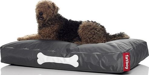 Legowisko dla psa Doggielounge duże ciemnoszare