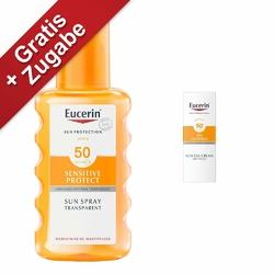 Eucerin Sun transparentny spray ochronny SPF 50